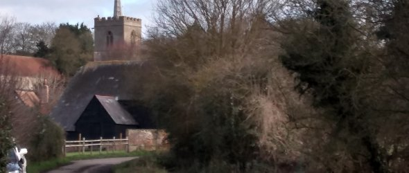 Standon Church from Mill Lane
