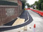 Image: Standon High Street works update